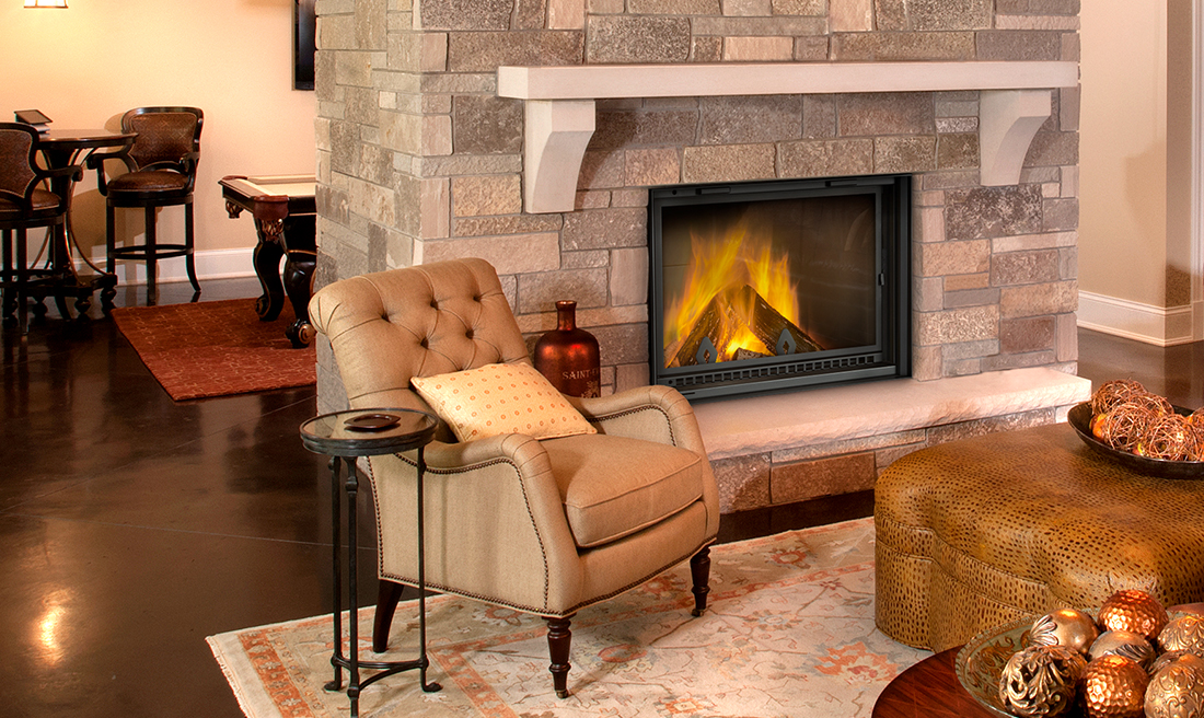 NZ5000T High Country Wood Burning Fireplace
