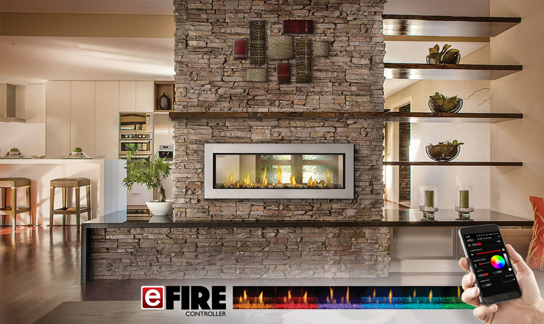 Napoleon Vector Linear Direct Vent Gas Fireplace