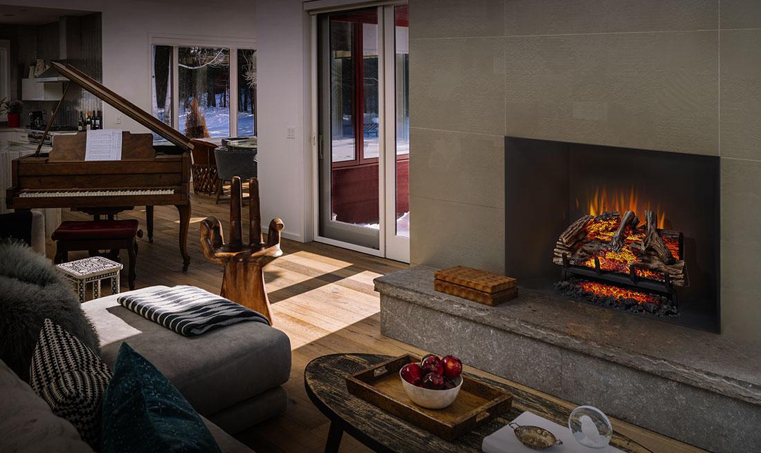 napoleon woodland electric log sets - Napoleon Fireplaces