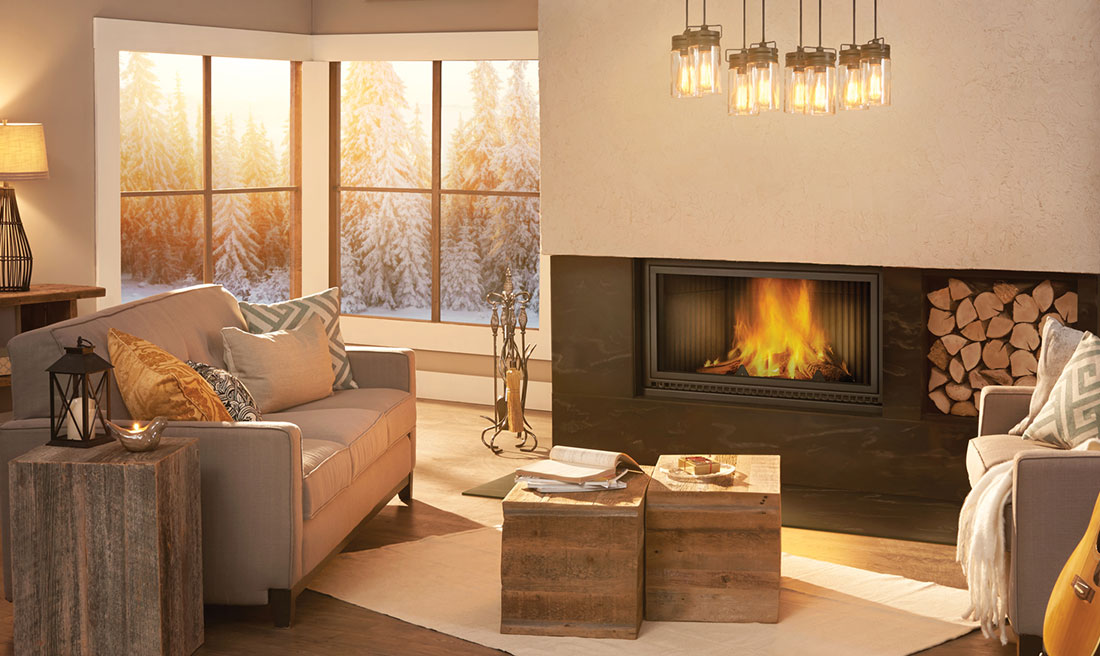 NZ7000 High Country EPA Zero Clearance Linear Wood Burning Fireplace