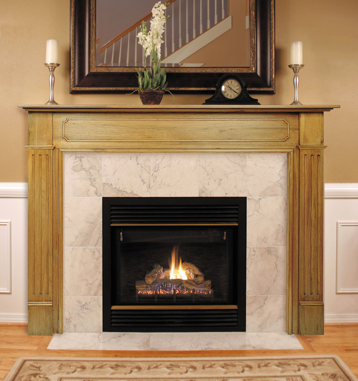 Pearl Williamsburg Fireplace Mantels