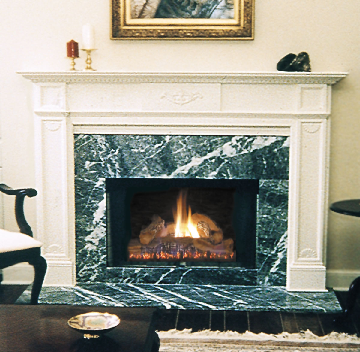 Pearl Jefferson Fireplace Mantels