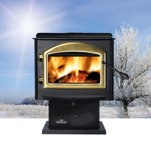 Napoleon Huntsville 1400 Medium Pedestal Wood Stove