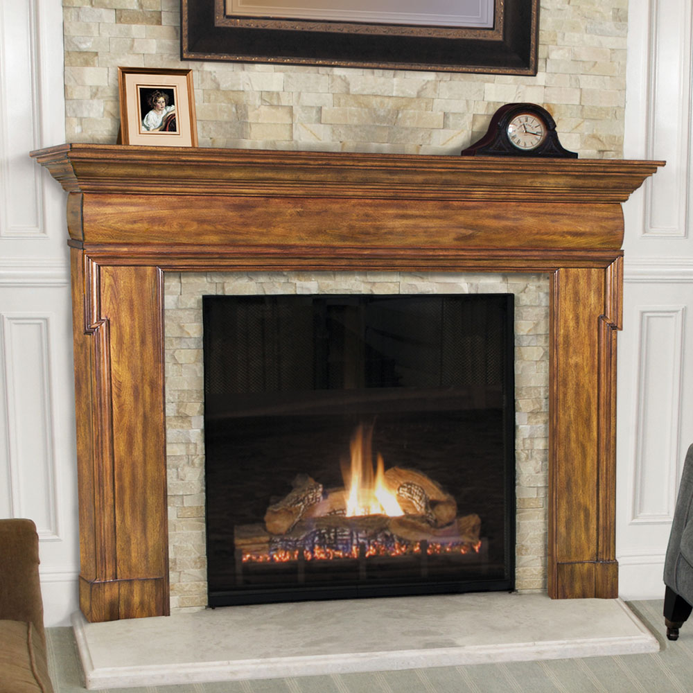 Pearl Hermitage Fireplace Mantels