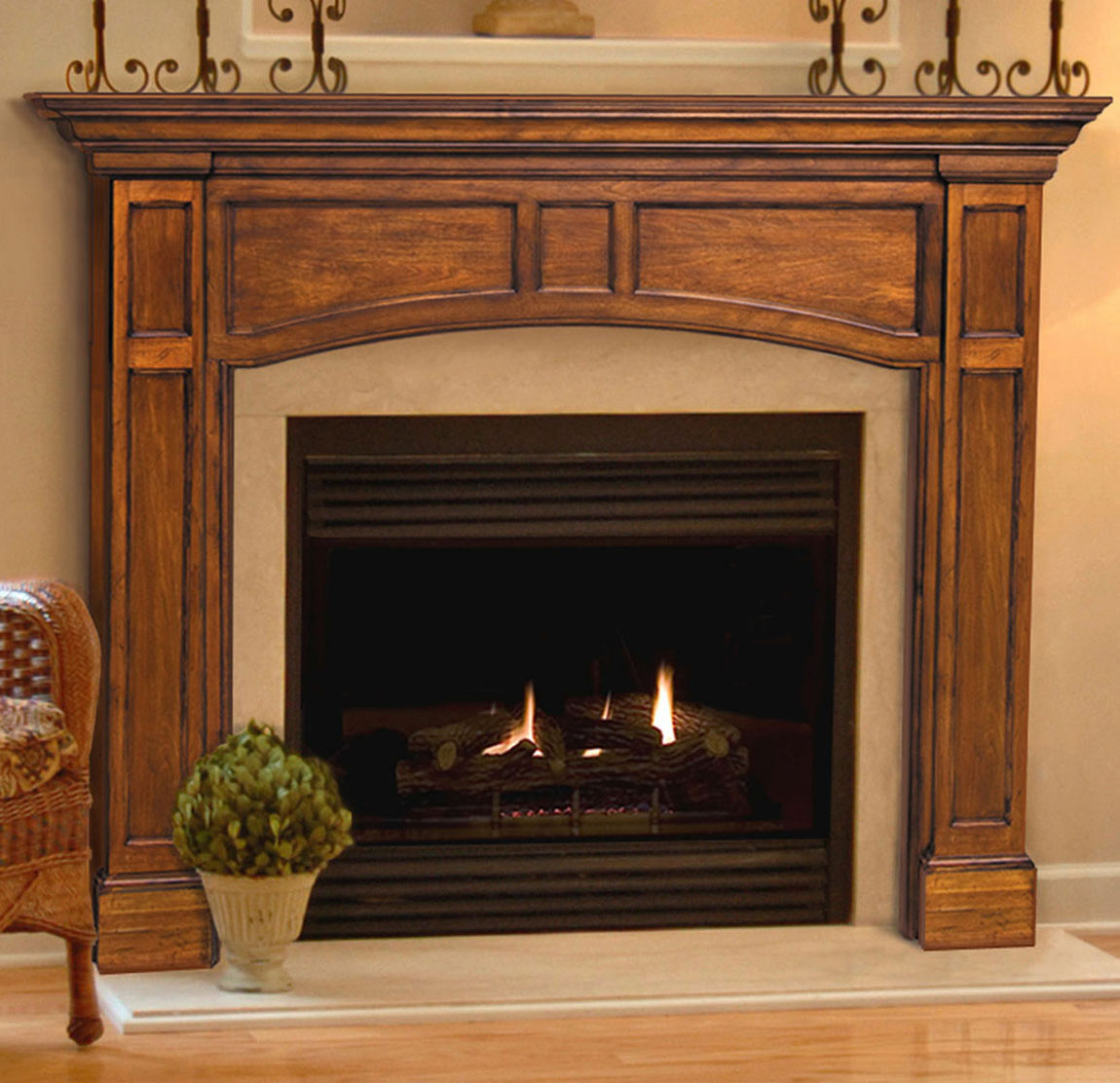 Pearl Vance Fireplace Mantels
