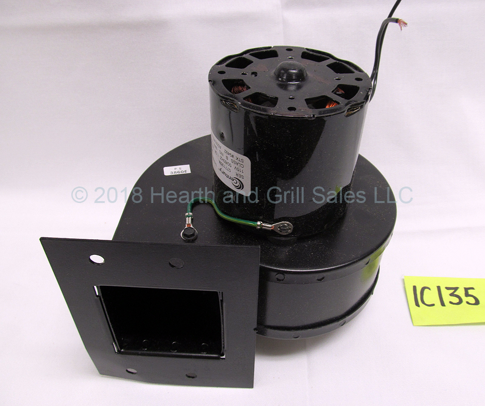 Blower Motor For Fireplaces And Wood Stoves
