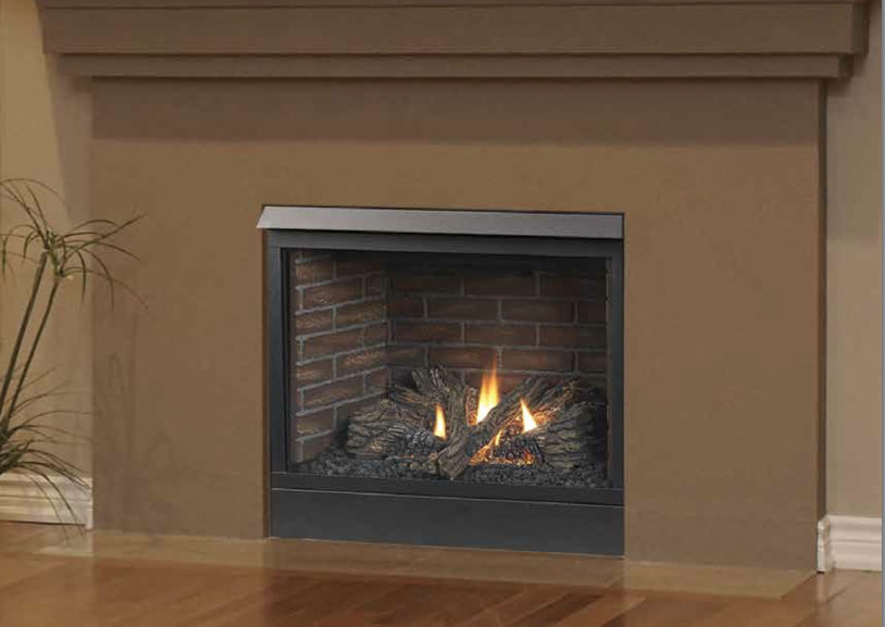 Majestic CFDV Patriot Clean Face Direct Vent Gas Fireplace