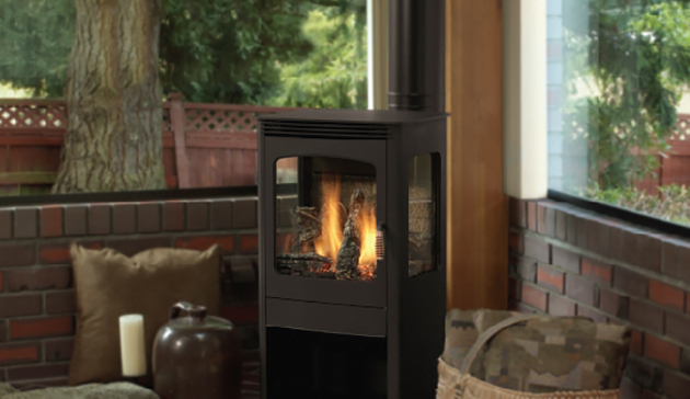 Superior Dxs300 Elite Series Direct Vent Freestanding Stove