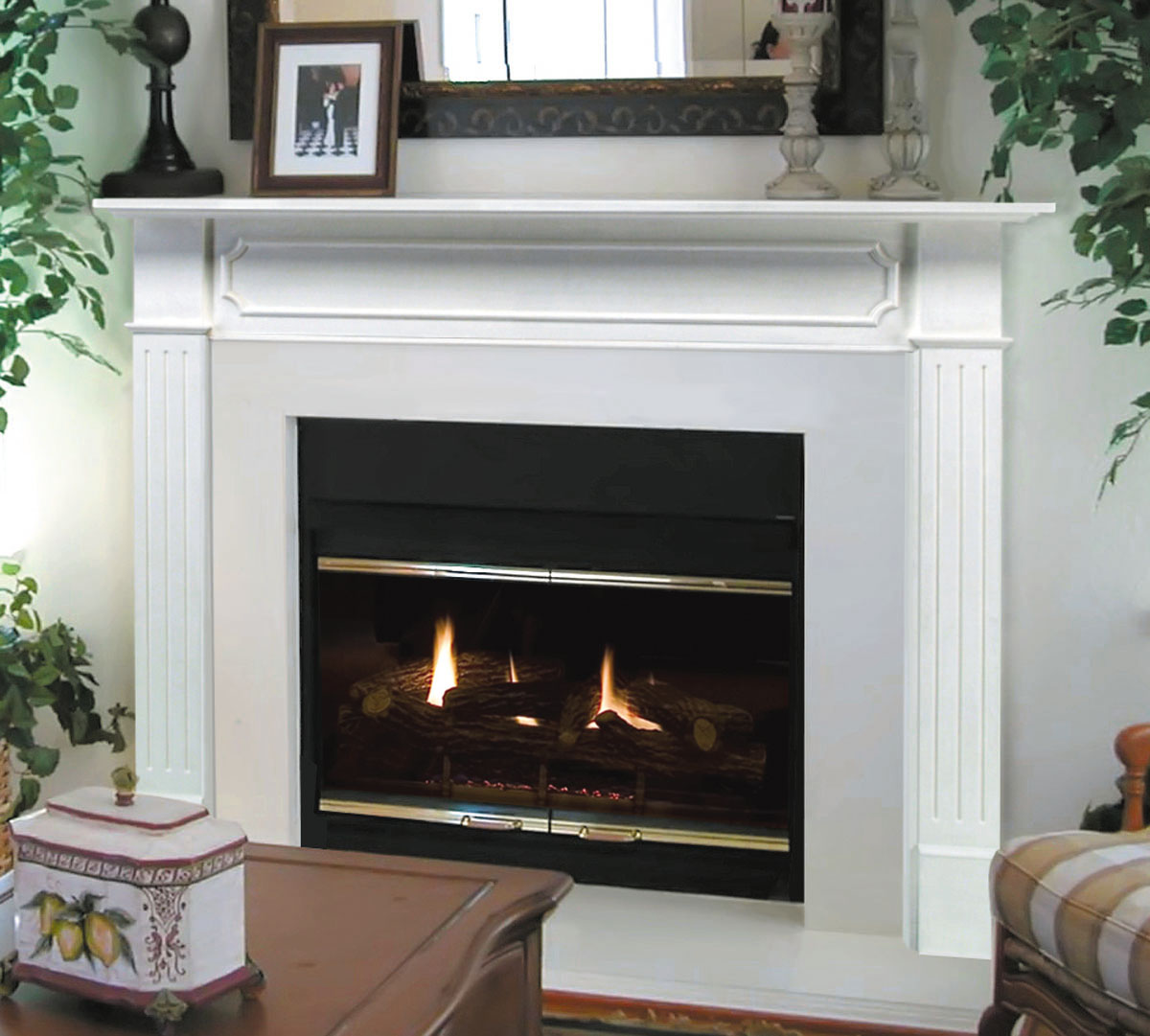 Pearl Berkley MDF Fireplace Mantel