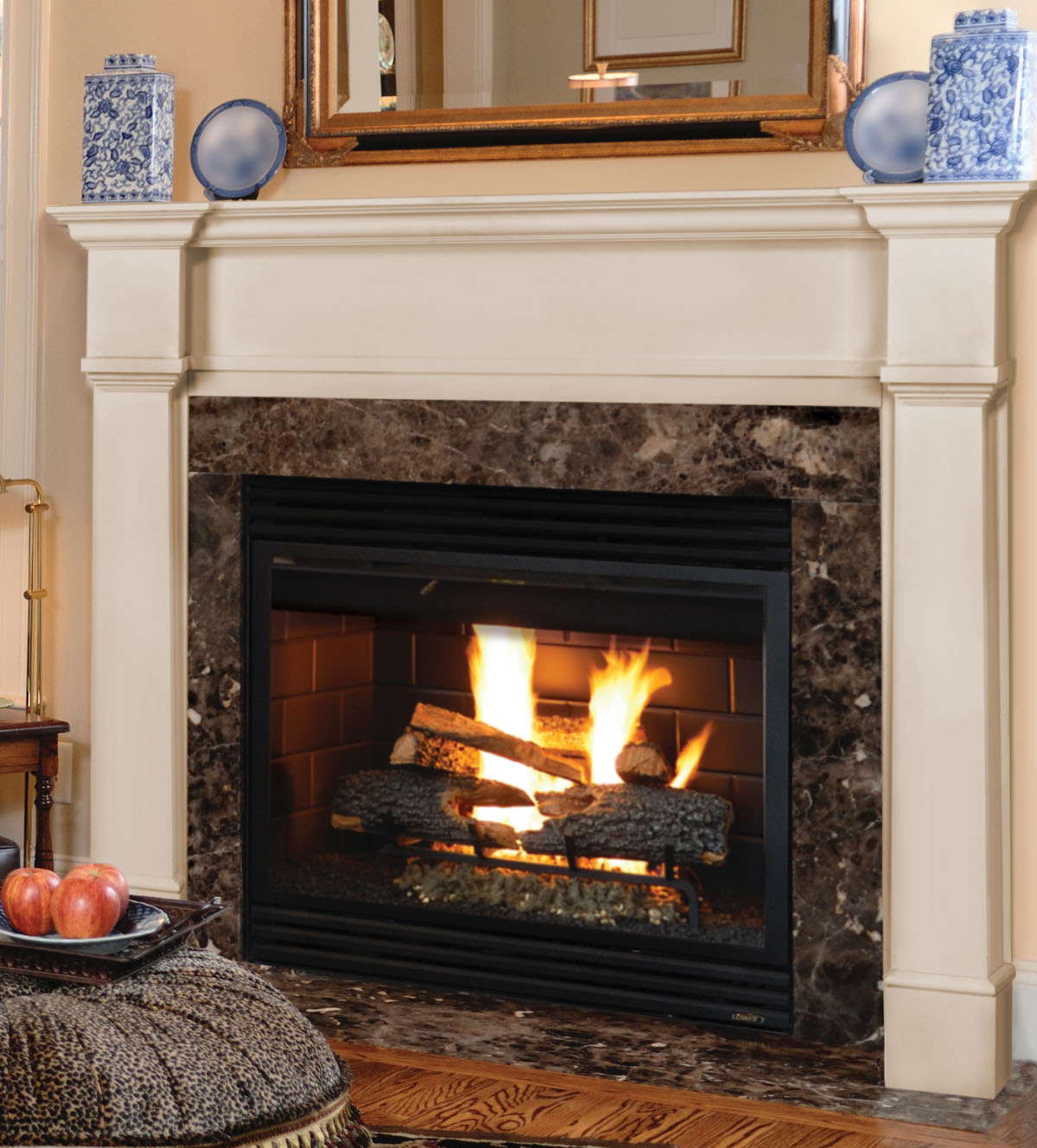 Pearl Richmond MDF Fireplace Mantel