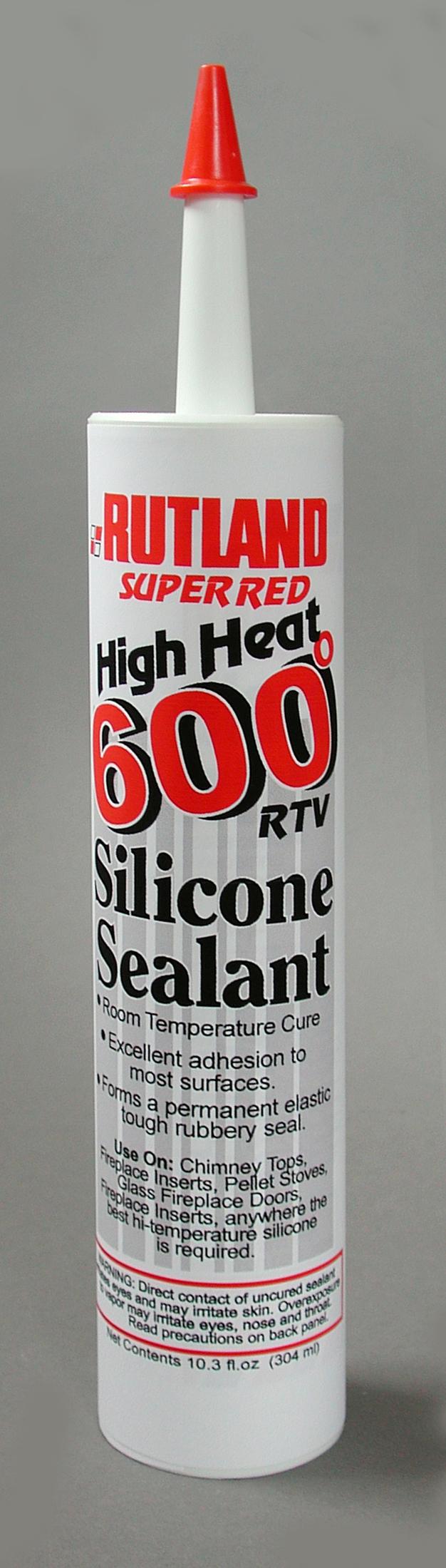rutland high heat silicone and adhesive