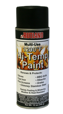 Rutland High Temperature Stove Paint