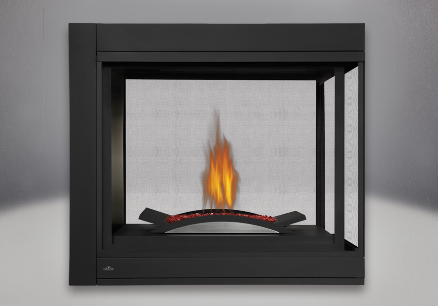 Napoleon Ascent Bhd4 Series Multi Sided Direct Vent Gas Fireplaces