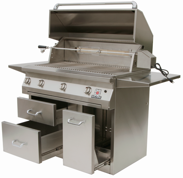Solaire 42 Inch Free Standing Infrared Grills