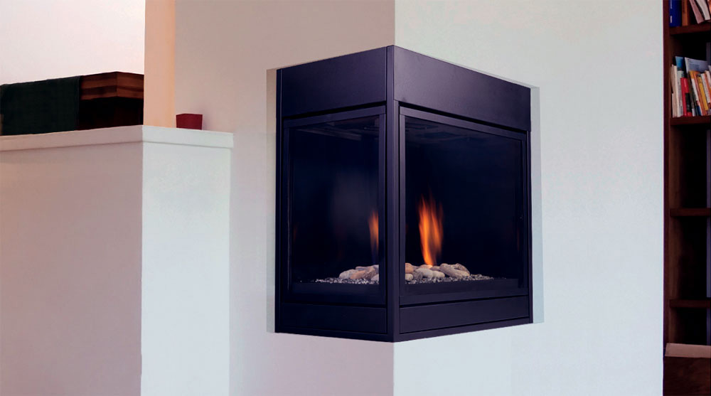 Majestic Pearl Designer Direct Vent Fireplace System