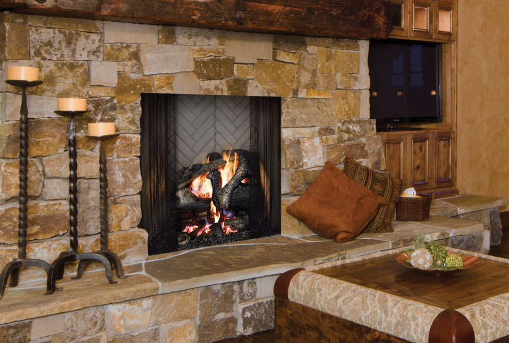 Majestic Ashland Wood Burning Fireplace