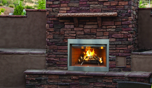 Superior WRE3000 Outdoor Wood Burning Fireplaces