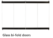 FMI Fireplace Glass Doors