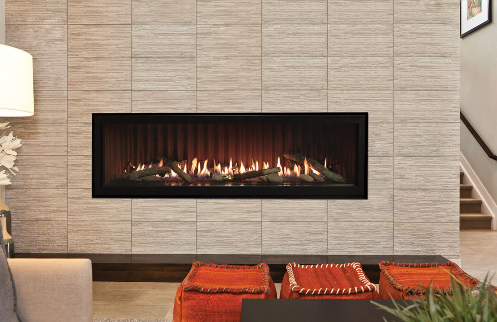 Boulevard 60 Inch Linear Direct Vent Fireplace