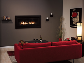 Boulevard Linear Traditional Direct Vent Fireplace