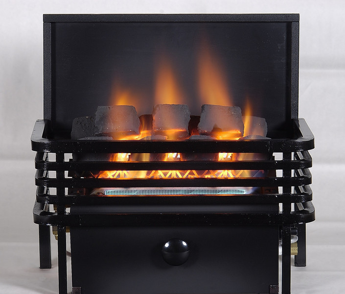 Rasmussen Chillbuster CoalFire Vent Free Heaters with Moderne Style Basket
