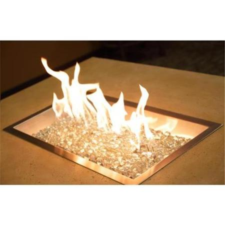 Crystal Fire Burners for Custom Fire Pit Applications