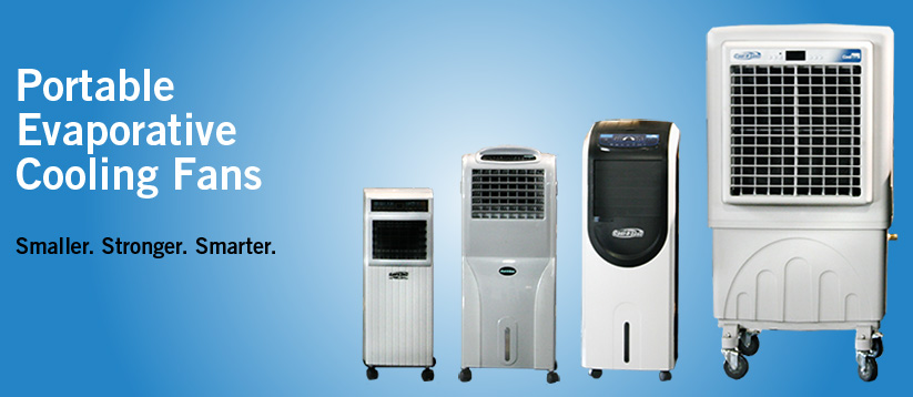 Cool-A-Zone Portable Evaporative Cooling Fans