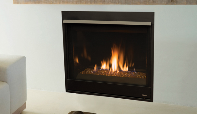 Superior DRC3500 Contemporary Direct Vent Gas Fireplace