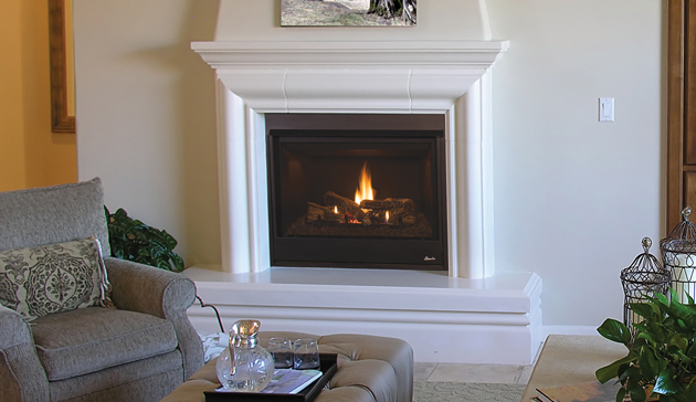 Superior DRT3000 Direct Vent Gas Fireplaces