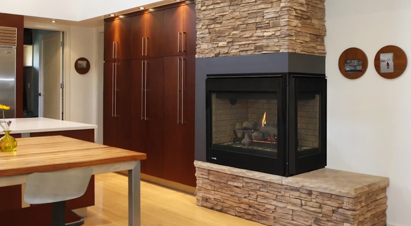 Superior Drt40 Multi Sided Direct Vent Gas Fireplace