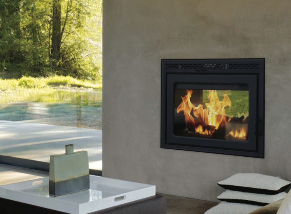 Supreme Duet See-Through EPA Wood Burning Fireplaces