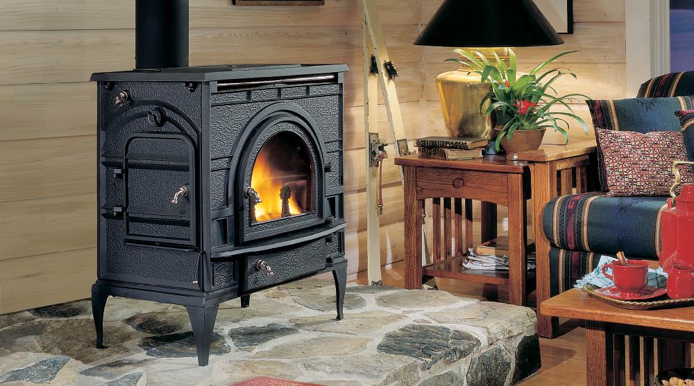 Dutchwest Wood Burning Catalytic Cast Stoves