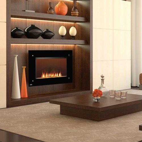 Napoleon EF39S Built In Wall Mount Electric Fireplace