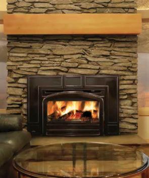 Napoleon Oakdale Series Epi3 Cast Iron Epa Wood Burning