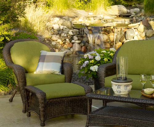 Outdoor GreatRoom Furniture for Fire Pit Tables