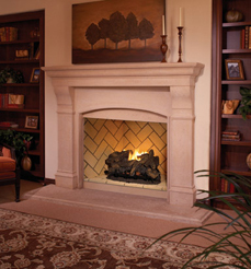 Fmi vent free fireplaces for Isokern fireplace inserts