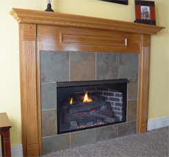 Rustic Rock Vent Free Fireplace Systems