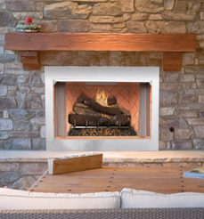 FMI Venetian Masonry Outdoor or Indoor Vent Free Firebox