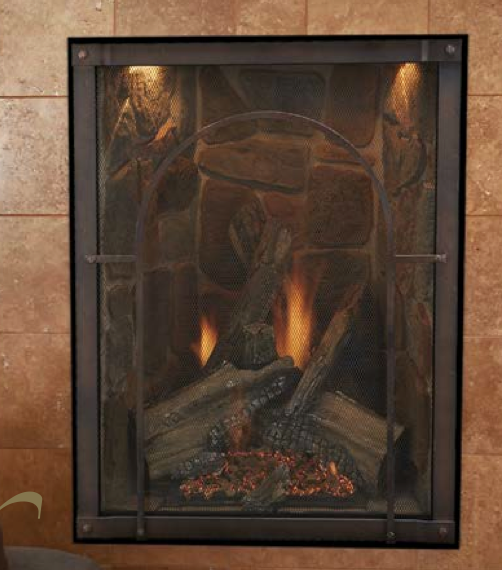 Forest Hills Portrait StyleTraditional Direct Vent Fireplace