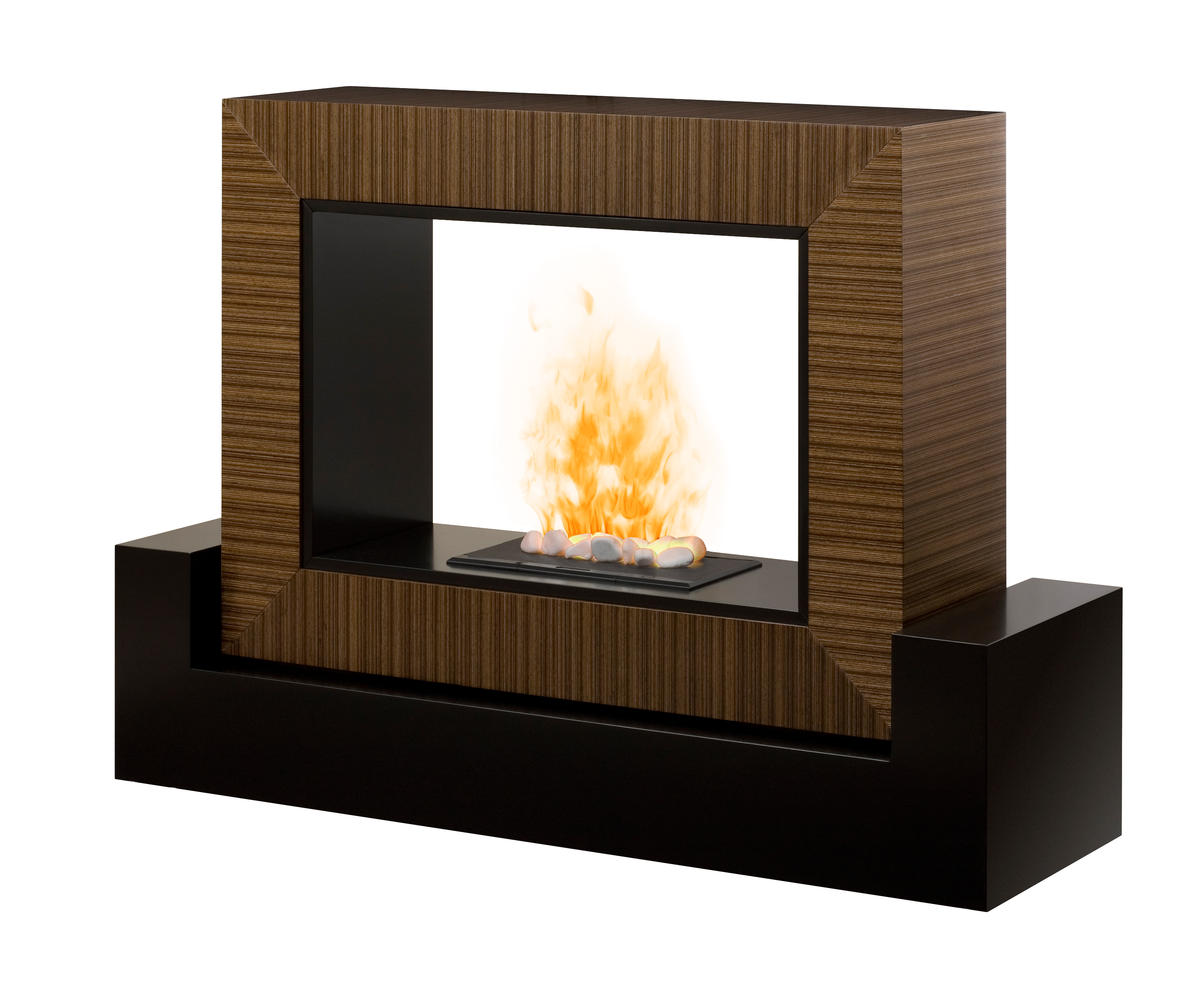 Log Effect Electric Heaters