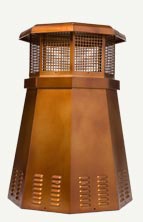 Octagon Steel Chimney Pot