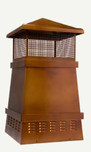 Square Steel Chimney Pot