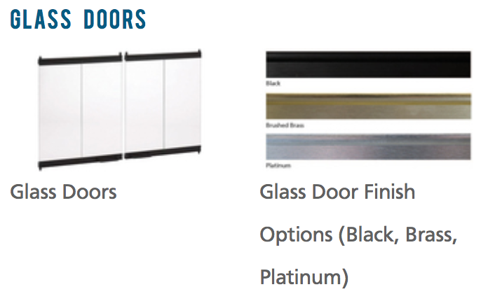 Superior Fireplace Glass Doors