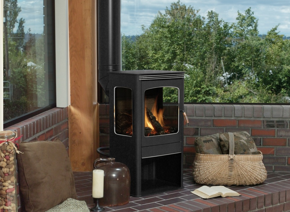 Lennox Visions Elite Series Direct Vent Freestanding Stove