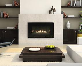 Loft Series Vent Free Fireplace System