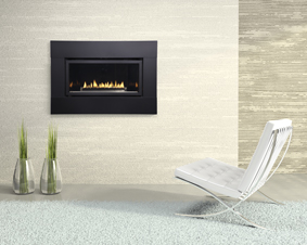 Loft Direct Vent Fireplaces  Small Gas Fireplace Insert