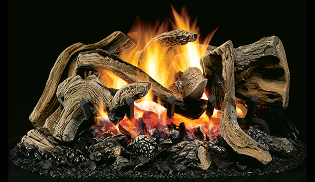 Superior Little Leaf Vented Gas Logs