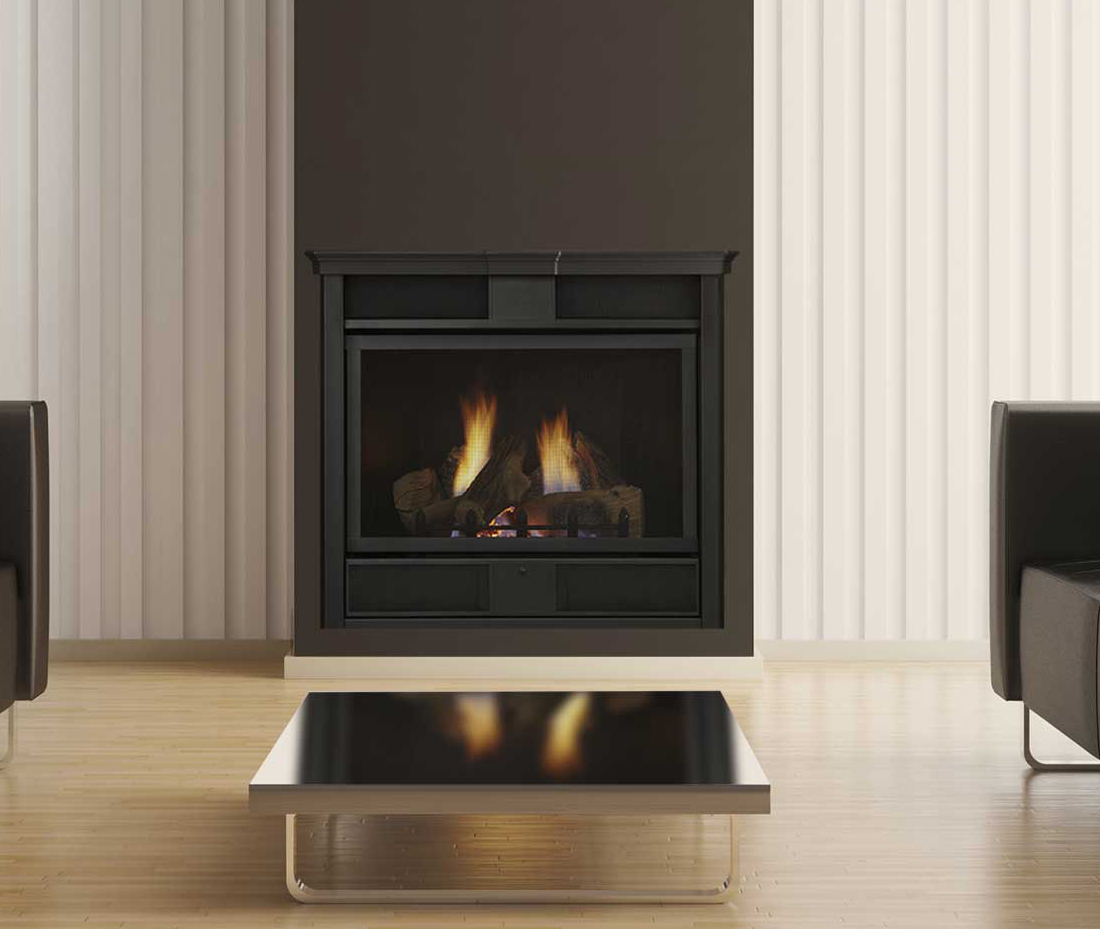 Monessen Symphony Traditional Vent Free Fireplace System