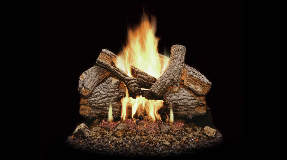 Monessen Massive Oak Vented Gas Logs