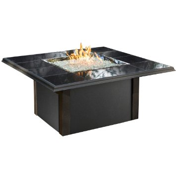 Chat Height Fire Pit Tables with Square Burner